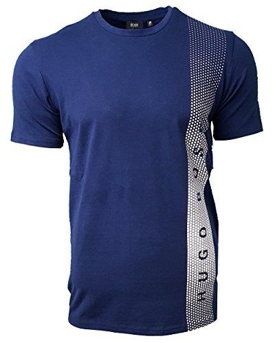 Hugo Boss - Men's Crew RN Side Print T Shirt. Short Sleeve.