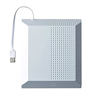 Gam3Gear Externe bewegliche Kühlvorrichtung-Kühlventilator-LED-Anzeige für Xbox eins S dünne Konsole weiß