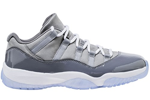 newest collection 9536c de1ae Nike Jordan Retro 11 Low Cool Grey Medium Grey White-Gunsmoke