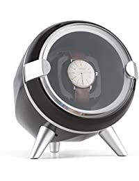 Klarstein Sindelfingen Remontoir pour 1 montre avec rotation droite & gauche (moteur ultrasilencieux, protection antipoussière) - noir