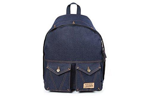Imagen de eastpak  eastpak jean paul gaultier jeans ref_eas37245 56 k, madera sin tratar, diseño vaquero, color azul