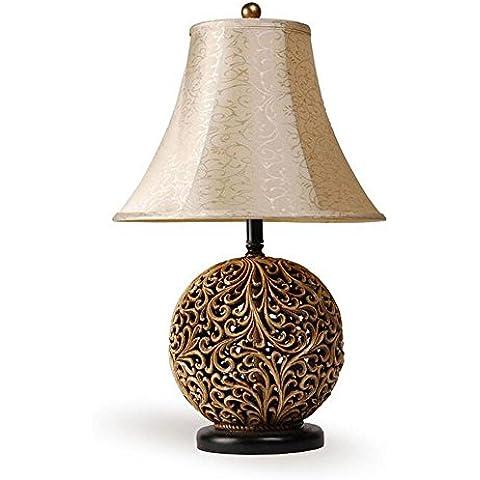 Lámpara de mesa lámpara red redonda lámpara de cabecera