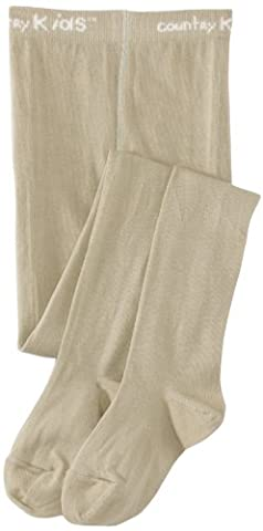 Country Kids Luxury Warm Winter Tights - Collants - Fille - Vert (Sage) - 12 mois (Taille fabricant:6-12 months)