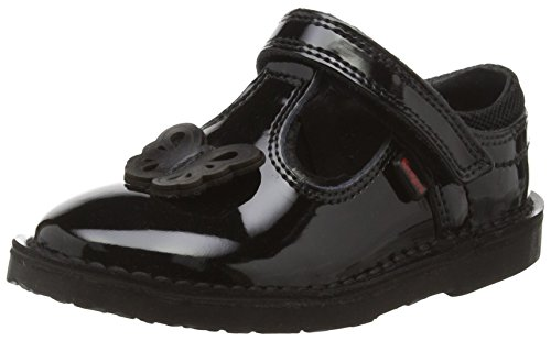 Kickers Girls Adlar T Infant Mary Jane, Black (Black), 10 Child UK...