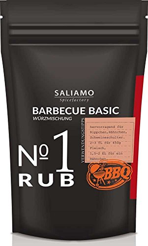 Barbecue Basis Rub, Würzmischung 250 g | Saliamo