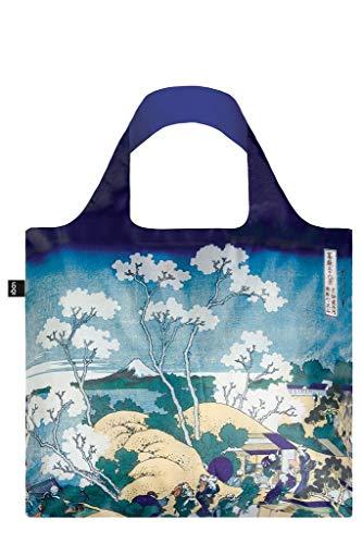LOQI Museum Hokusai Fuji From Gotenyama Bag Borsa da spiaggia, 50 cm, 20 liters, Multicolore (Multicolour)