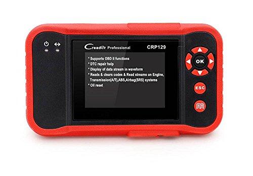 QXXZ CRP129OBD2Englisch/at/ABS/SRS EPB SAS Oil Service Light Setzt Code Reader für Mechaniker und erfahrene Liebhaber