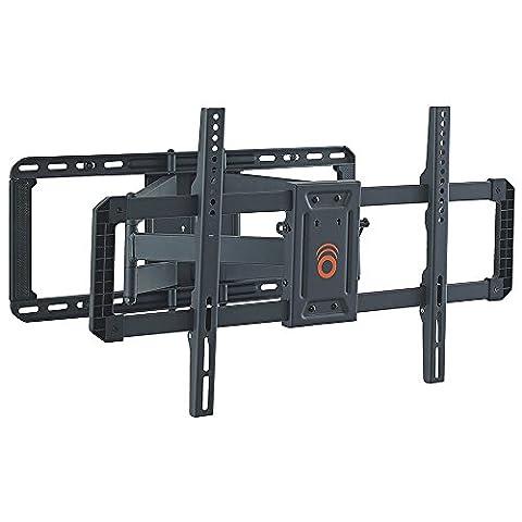 echogear Full Motion Gelenkige TV-Wandhalterung für die meisten 106,7–203,2cm LED, LCD, OLED und Plasma Flach Bildschirm Fernseher TV W/VESA Mustern bis zu 600x 1.016–55,9cm Erweiterung–eglf2-b2