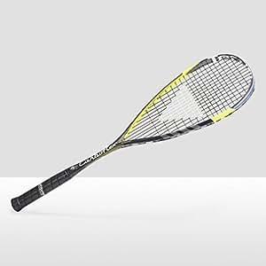 Tecnifibre Carboflex 125 Squash Racket, Black/Yellow, One Size