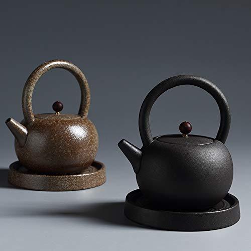 GBCJ Keramik einfach japanischer keramischer Warmer Teeofen, alte Keramik, Keramik, Topf, Topf, Elektroherd, Teeofen, kleines Temperaturteeset.
