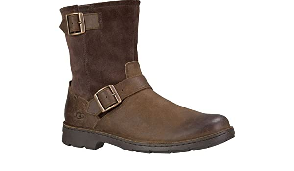 2cfd61d5794 UGG Messner Boot - Men's Stout (Leather), 7.0: Amazon.co.uk: Shoes ...