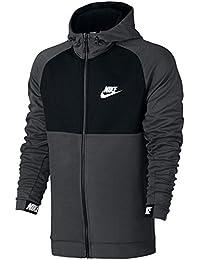 Nike Herren Sportswear Advance 15 Fleece Langarm Oberteil mit Kapuze Full-Zip
