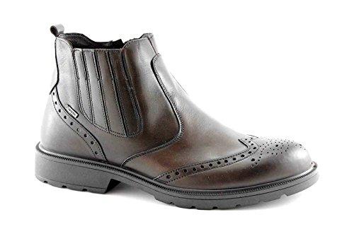 IGI & CO bottes 66641 t.moro chaussures marron homme beatles cuir anglais zip Marron