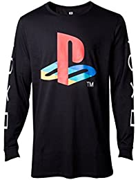 Playstation Classic Logo Manches longues noir