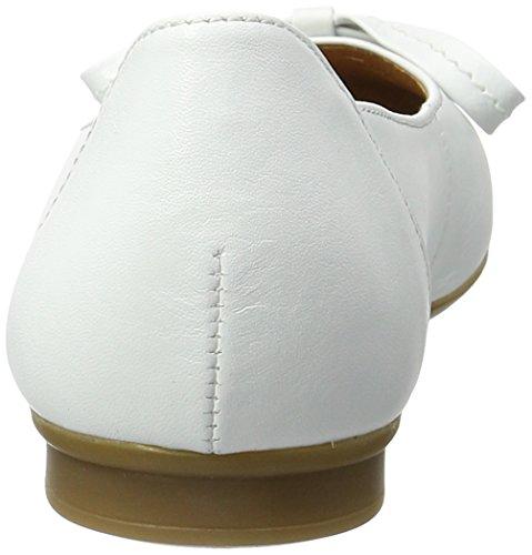 Gabor Fashion, Ballerines Femme Blanc (weiss 21)