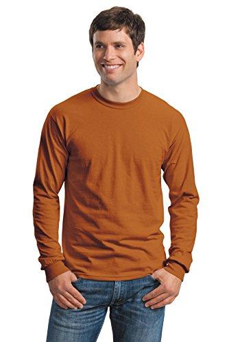 Gildan–Kleidung–Hemd Texas Orange