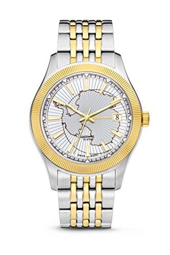 Rodania–Antarctic Reloj de hombre, bicolor