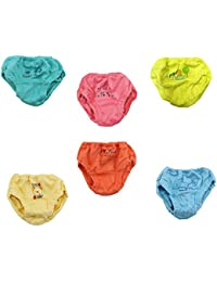 Kid's Care Baby Boy Baby Girl Panties/Bloomer/Innerwear/Drawer Combo-Pack of 6