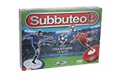 Idea Regalo - Giochi Preziosi- Subbuteo Champions League Edition, con 2 Squadre, Multicolore, f08-GR-03082
