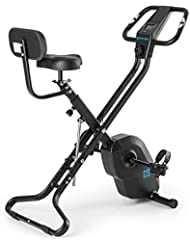 CAPITAL SPORTS Azura X2 X-Bike • Ergometer • Heimtrainer • Fitness-Bike • Trainingscomputer • Pulsmesser • 8-stufig verstellbarer Widerstand • 3 kg Schwungmasse • Rückenlehne & Seitenhalterung • max. 100kg • verschiedene Farben & Modelle