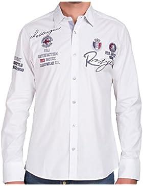 Redbridge Hemd Polohemd Herrenhemd Modell R2130 weiss