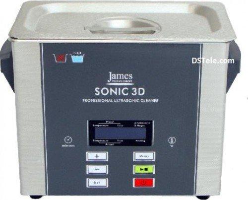 Ultraschall Reinigungsgerät Ultraschallreiniger Profigerät JPL Sonic 3D Edelstahl 120 Watt mit digitaler Steuerung