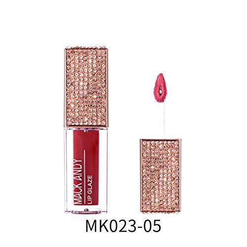Weixinbuy Flüssiger Lippenstift, der wasserdichte langlebige seidige Lippenglasur für Mädchen befeuchtet