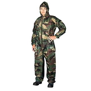 Camouflage Einweg-Schutzanzug (XXL)