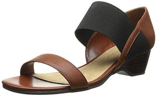 Boas Palmerii Vida Damen Synthetik Sandale Tan / Black