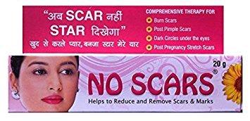 No Scar Cream (Reduce & Remove Scars & Marks) 20gm