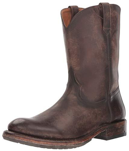 FRYE Herren Duke Roper, Redwood, 45.5 EU - Frye Boot Herren Stiefel