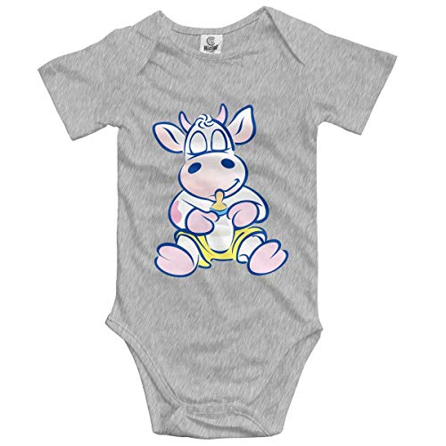 ARTOPB Baby Climbing Clothes Set Milk Bodysuits Romper Short Sleeved Light Onesies Hip Baby Onesies