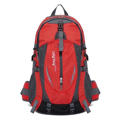Wmshpeds Zainetto sacco di arrampicata borsa da viaggio equipaggiamento di viaggio di grandi capacità zaino borsa per computer B
