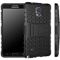 Per Samsung Galaxy, Note4 N9100 Urvoix (TM)-Heavy Duty Hybrid antiurto a doppio strato, con robusta Grenade-Custodia ruvida con funzione cavalletto - Heavy Duty Ruvida