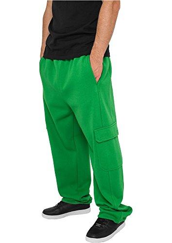 Urban Classics Cargo Sweat Pants TB031 Verde - c.green