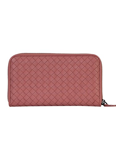 bottega-veneta-femme-114076v001n5707-rose-cuir-portefeuille