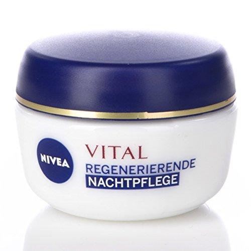 5Pack Nivea Visage Vital regenerierende Nachtpflege 5x 50ml