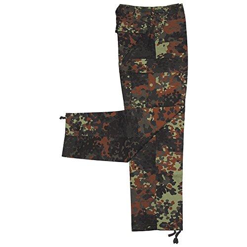 MFH US BDU Pantalon indéchirable pour homme Camouflage à points