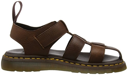 Dr. Martens Galia, Sandales Bout Ouvert Mixte Adulte Marron (Tan Carpathian)