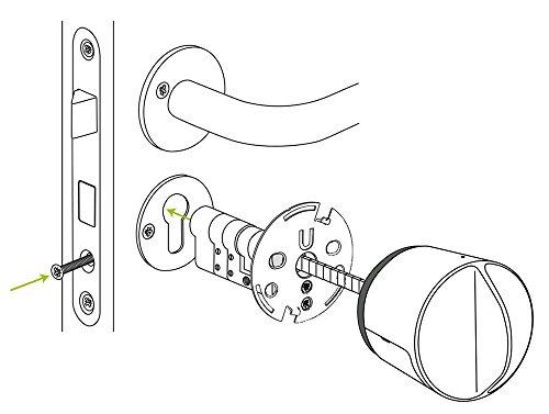 Cerradura de puerta electrónica Smartlock V3 de Danalock, abridor de puerta automático para iPhone y Android