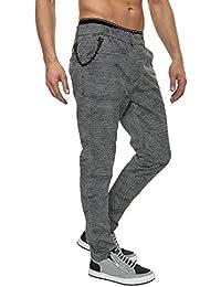Antony Morato Pantalon de costume homme Slim Fit Allover-Print