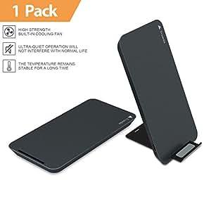 chargeur sans fil rapide trusda 10w qi chargeur induction pour galaxy note 8 s8 s8 plus s7. Black Bedroom Furniture Sets. Home Design Ideas