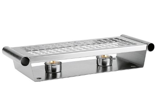 Aps - Calienta Platos 2 Velas Inox
