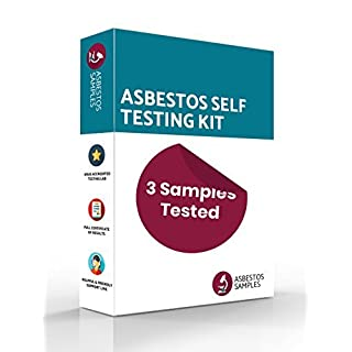 Asbestos Self Testing Kit | 3 Samples Tested | UKAS Accredited Lab Certificate | Industry Approved Protective Equipment | Fast Results