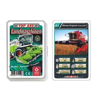 22571152 - ASS Altenburger Spielkarten - TOP ASS Quartett Landmaschinen