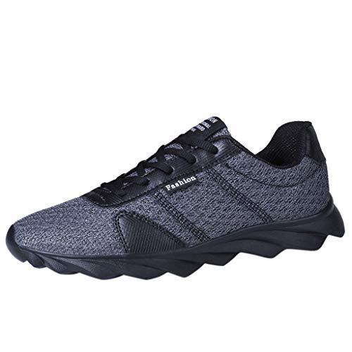 schuhe Laufschuhe Damen Mesh Tuch Straßenlaufschuhe Atmungsaktiv Leichtgewicht Trainers Schuhe Mode Sneaker Shoes ()
