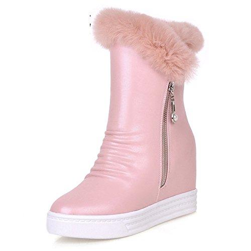 Alta neve stivali/ stivali con la suola spessa in inverno/