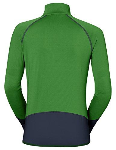 Vaude Damen Livigno Halfzip Pullover parrot green/eclipse