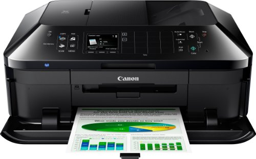 Canon Pixma MX925 All-in-One Farbtintenstrahl-Multifunktionsgerät (Drucker, Scanner, Kopierer, Fax, USB, WLAN, LAN, Apple AirPrint) schwarz -
