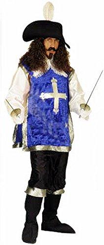 Inception Pro Infinite M - L - Taglia Unica - Costume - Travestimento - Carnevale - Halloween - Moschettiere Spadaccino - Colore Blu - Adulti - Uomo - Ragazzo